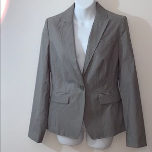 Banana Republic Gray Fitted Blazer Size 6